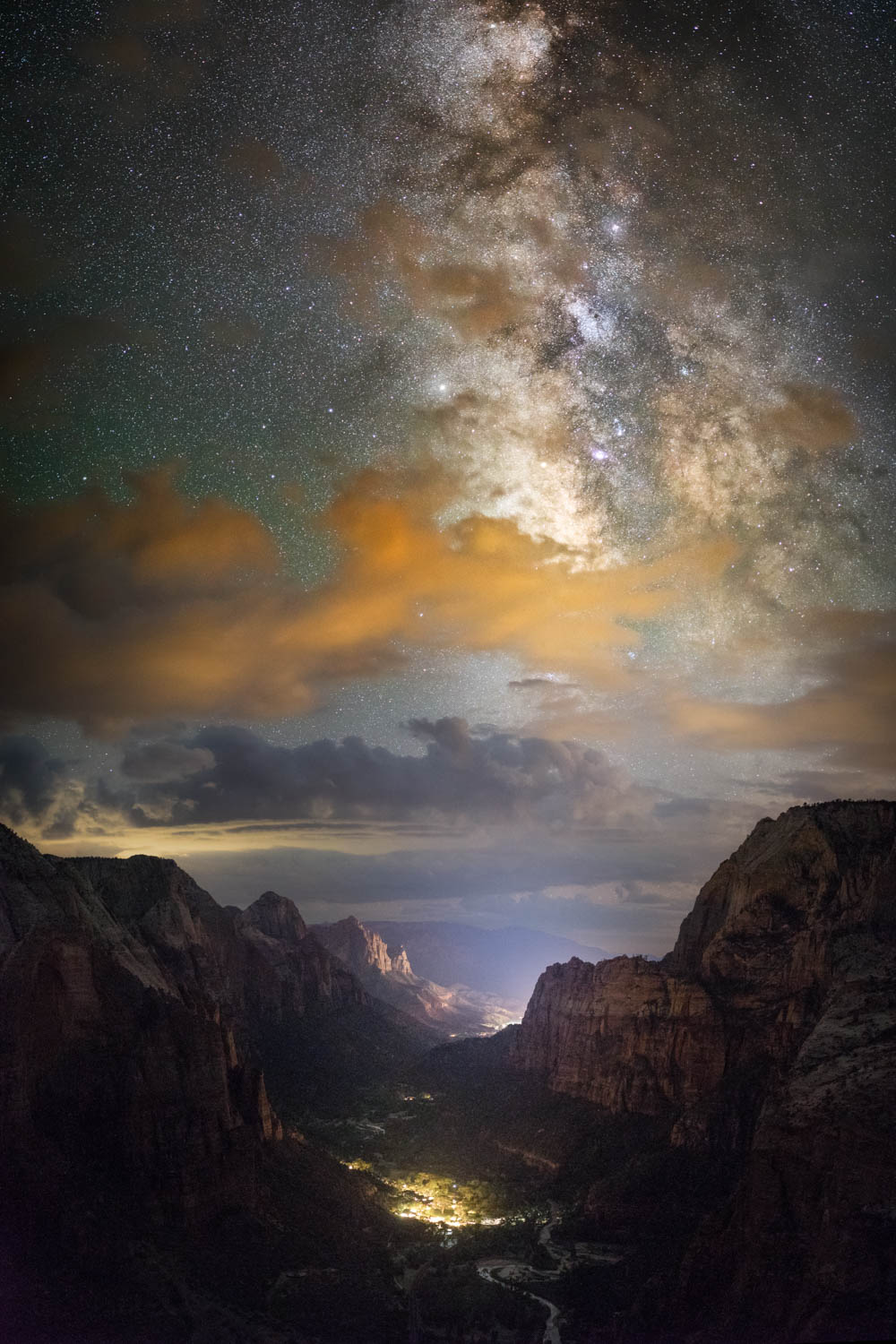The Milky Way from Angels Landing, Zion National Park